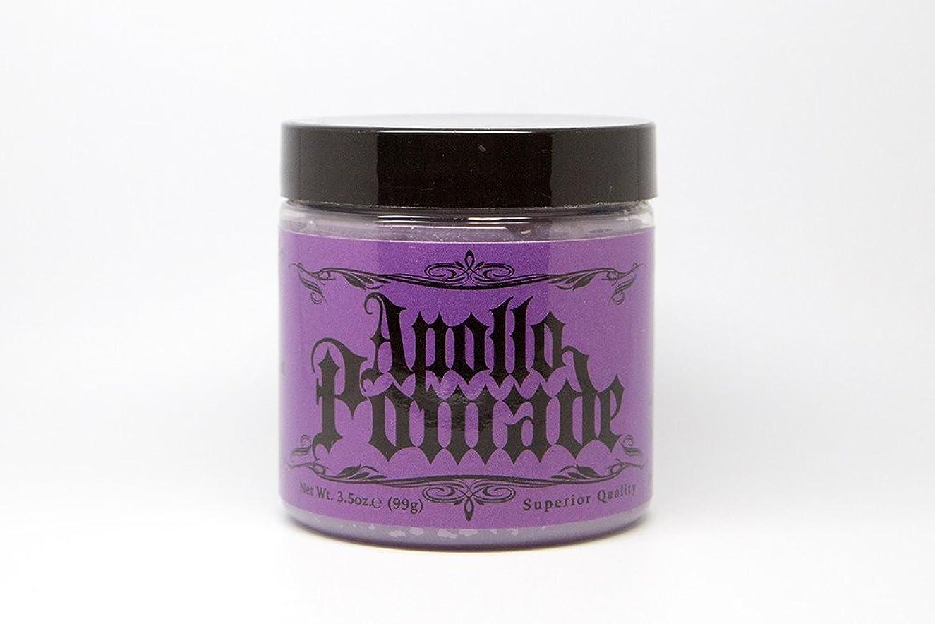 文字蓋請求書ポマード メンズ Apollo Pamade (アポロポマード 油性 ) 3.5oz(99g)