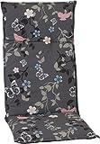 beo M503 Bregenz HL Saumauflage für hochwertig und pflegeleicht, angenehmer Sitzkomfort Hochlehner circa 48 x 119 cm, circa 5 cm dick