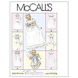 McCall's 6221 - Patrones de Costura para Confeccionar faldones para bebé (6 Modelos, en inglés y alemán)