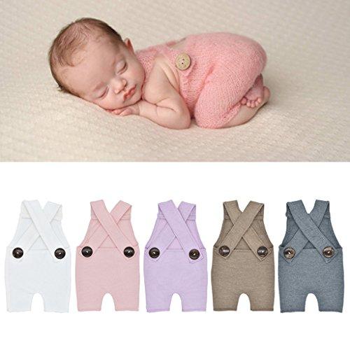 Abicial Acessório para fotografia para bebês recém-nascidos, roupa para fotos de bebê recém-nascido, conjunto de fotos para presente