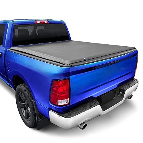 Tyger Auto TG-BC1D9014 T1 Soft Roll Up Truck Tonneau Cover
