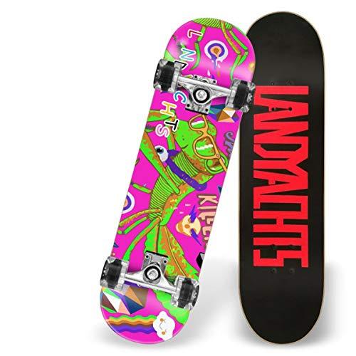 Love your life Anfänger Skateboards komplette 31-Zoll-Kühler Mantis Skateboard