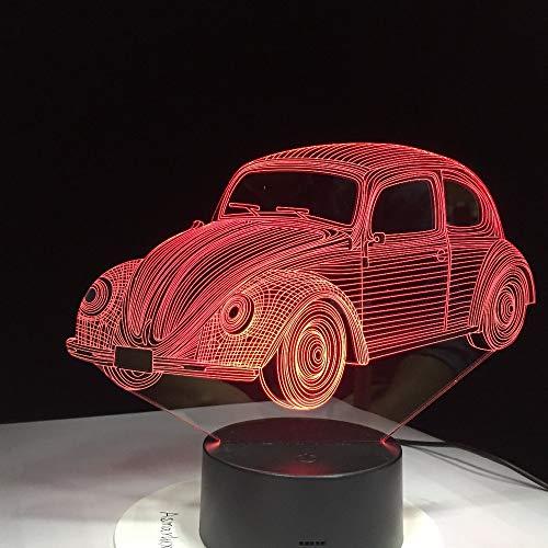 Automodellierung USB Schlaf 3D LED Nachtlicht Tischlampe Nachttisch Dekoration Kinder Geschenk
