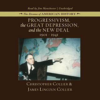 Progressivism, the Great Depression, and the New Deal audiobook cover art