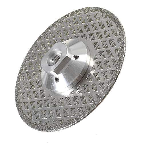 ESUHUANG 150 / 125mm Diamante VIO la lámina for Amoladora Angular Diamante Disco for Corte de cerámica de Porcelana Azulejos Diamante Disco de Corte Suministros de Herramientas (Size : 125mm)