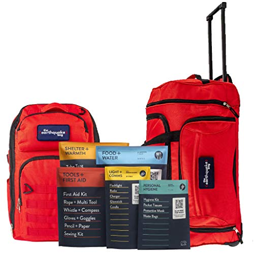 Complete Earthquake Bag - Emergency kit for...