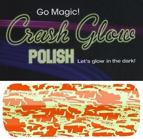 alessandro Nagellack Go Magic! CRASH GLOW Set/ORANGE