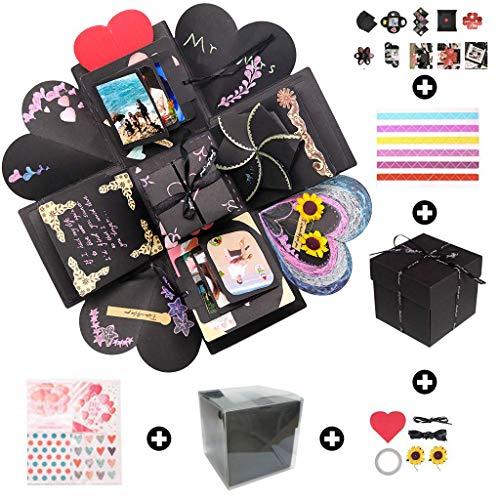 Sparta\'s Store Kreative Ãœberraschung Box Handgemachtes Scrapbook DIY Faltendes Fotoalbum,Explosions-Box, Gedenkalben, Geburtstagsgeschenke, Partygeschenke.