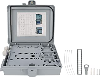 Ladieshow Caja Terminal de Fibra óptica de Caja de distribución de Fibra óptica de Base FTTH 12 IP65