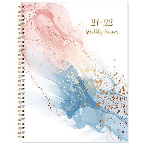 2021-2022 Monthly Planner - Monthly Planner 2021-2022, 18-Month Planner from July 2021- December 2022, 8.75'' x 11'', Planner 2021-2022 With Tabs, Flexible Cover, Inner Pocket