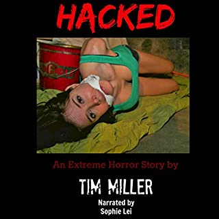 Hacked audiobook cover art