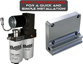 FASS Fuel Air Separation System Titanium-Series 95gph 98.5-04 Dodge Ram Cummins 5.9L Diesel - T D08 095G -