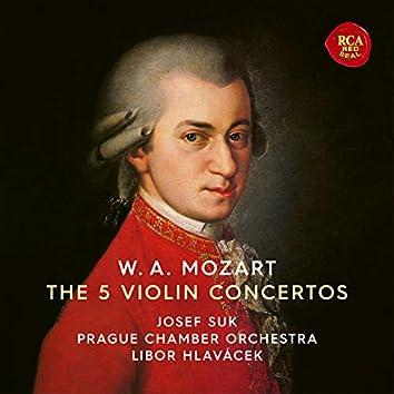 Mozart: Violin Concertos Nos 1-5
