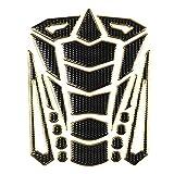 Protector Pad serbatoio, Universale Moto Gas Fuel Oil Tank Pad adesivi Protector Tank Traction Pad(Gold Edge)