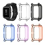 Best Smartwatch Cases - EEweca 5-Pack Protector Case for Amazfit Bip Smartwatch Review