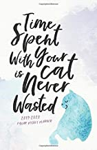 2019-2020 2-Year Pocket Planner; Time Spent With Your Cat is Never Wasted: The Cat Lover's Pocket Calendar and Monthly Planner 2019-2020 (2019 Daily, ... Calendar Planners and Appointment Books)