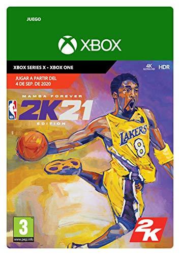 NBA 2K21: Mamba Forever Edition | Xbox One - Código de descarga
