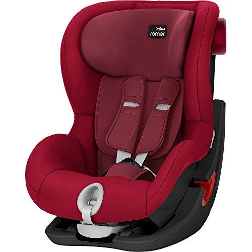 Britax Römer Kindersitz 9 Monate - 4 Jahre I 9 - 18 kg I KING II Autositz Gruppe 1 I Flame Red