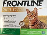 Merial Frontline Gold 3 dose Cats Over 3Lbs