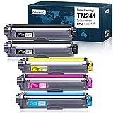 OfficeWorld Compatible Brother TN241 TN245 TN-241 TN-245 Cartucho de...
