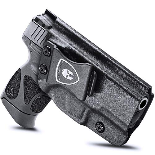 Taurus G3C Holster / G2C Holsters, IWB Kydex Holster Fit: Taurus G2C / G3C / Millennium PT111 G2 / PT140 9mm Pistol, Inside Waistband Concealed Carry Holster, Adj. Cant / Retention, Right Hand