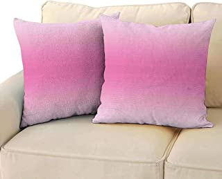 Fashion Pillowcase Ombre Fairytale Cotton Candy Inspired Girly Design Room Decorations Digital Modern Art Print Machine Washable W 18