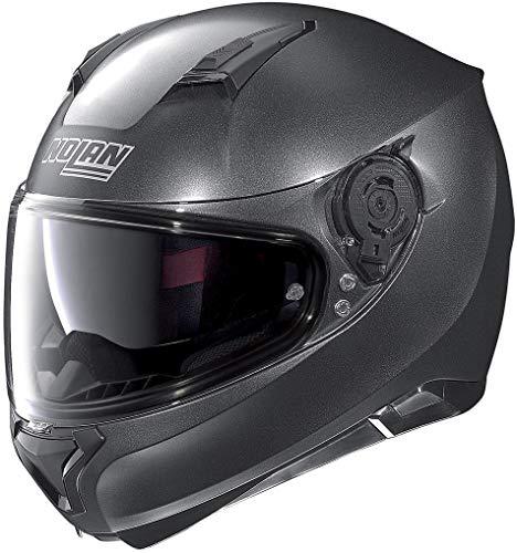 Nolan N87Special Plus - Casco Integral de Moto de policarbonato. Color Negro, tamaño 3XL