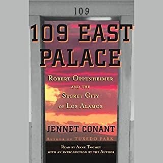 109 East Palace audiobook cover art