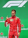 Sebastian Vettel – Ferrari 2019 – F1 Wall Poster Print