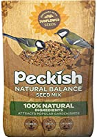 This bird food mix is enriched with sunflower seeds along will seven other seeds Made from 100 Percent natural ingredients Use this seed to attract Blackbird, Robin, House Sparrow, Long Tailed Tit, Chaffinch, Song Thrush, Blue Tit and Tit plus many m...