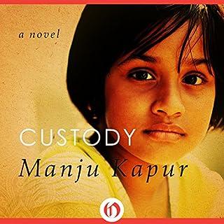 Custody audiobook cover art