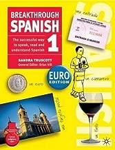 Breakthrough Spanish 1: Euro Edition by Sandra Truscott (2003-07-11)