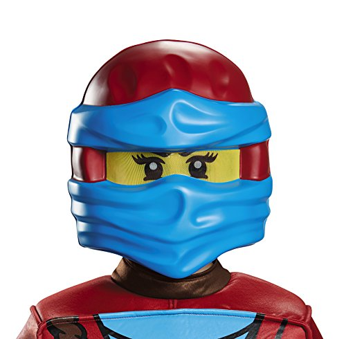 LEGO Ninjago Movie DISKX98899 Zubehörteil Lego Ninjago Costumes, NYA, One Size