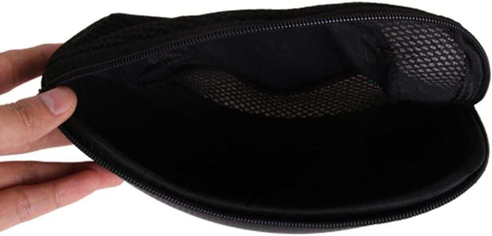 Baosity Portable Zip Eyewear Case Box Eyeglass Sunglasses Travel Holder Protecter