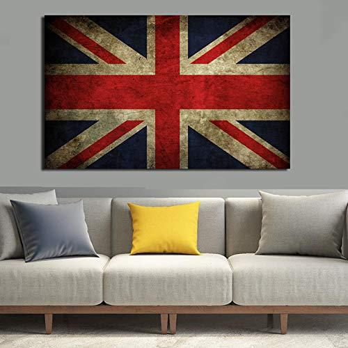 YHZSML Wandkunst Bilder Flagge Leinwanddruck Für Wohnzimmer Leinwand Wanddruck Malerei Moderne Dekorative Malerei Ungerahmt C 40x60 cm