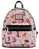Loungefly Disney Cats Mini-Backpack Handbag All Over Print Cheshire Aristocats