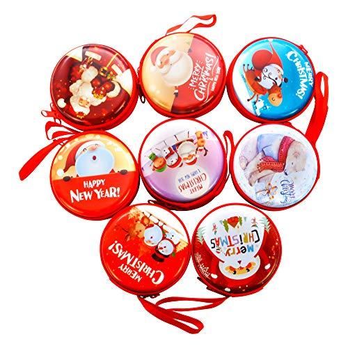 JoaSinc 16pcs Scatole Regalo Caramella Natalizi per Bambini Addobbi Decorazione Scatoline Natalizie Albero di Natale Gadget Compleanno Natale Bambini Oggettistica Natale