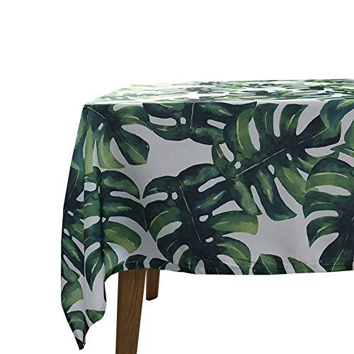 Tovaglia da cucina tropicale moderna tappeto cotone tovaglia da salotto decorazione da tavola Panno decorativo nozze 140 x 140 cm 55x55 pollici