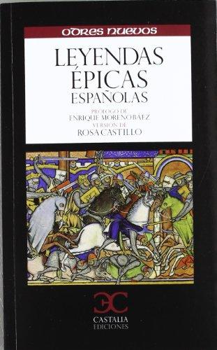 Leyendas épicas españolas . (ODRES NUEVOS. O/N.)