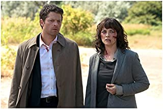 Supernatural Misha Collins as Castiel with Erica Carroll as Hannah 8 x 10 Inch Photo