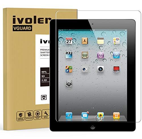 ivoler Protector de Pantalla para iPad 2/3 / 4 9.7 Pulgadas, Cristal...