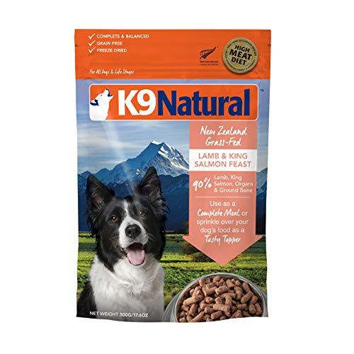 K9 Natural Grain-Free Freeze Dried Dog Food, Lamb & Salmon 17.6oz