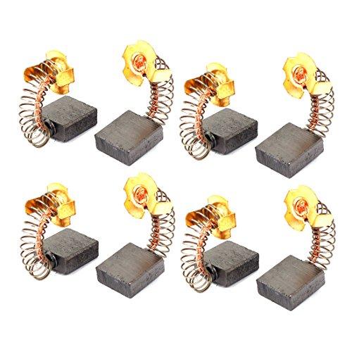 sourcingmap 8 pz sostituzione motore spazzole di carbonio 18mm x 17mm x 7mm per motori elettrici