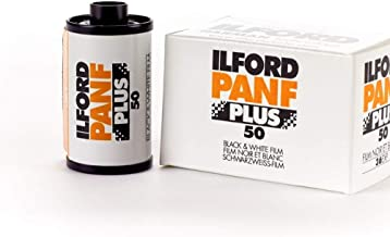 Ilford PAN F Plus, Black and White Print Film, 135 (35 mm), ISO 50, 36 Exposures (1707768)
