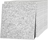 12 Stück Akustikplatten Akustische Schalldämmplatten Schallabsorber Platten Akustikpaneele zur effektiven Akustik Dämmung Schallschutz für Studio Hause ca. 30x30cm...