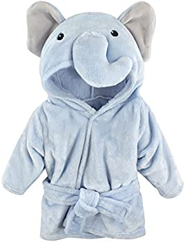 Hudson Baby Unisex Baby Plush Animal Face Robe