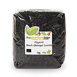 Organic Black (Beluga) Lentils 1kg Buy Whole Foods Online supplies a wide range of wholefoods and specialist foods Certified Organic Black Beluga lentils are used in many cuisines and can be added to soups and salads