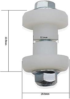 ATV UTV Rubber Link Bushing Replace 5432598-8 PCS Stabilizer Connecting Rod Bushing Fit for Polaris Sportsman Athlete Ranger Hawkeye 335 400 450 500 550 600 700 800