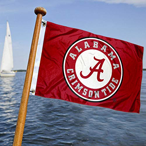 College Flags & Banners Co. Alabama Crimson Tide Boat and Nautical Flag
