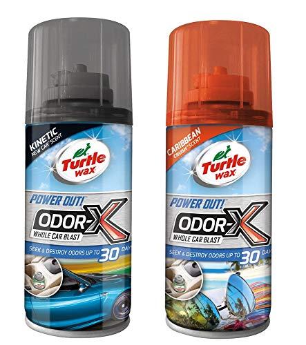 Turtle Wax Odor-X - Ambientador Coche Bomba Humo Que